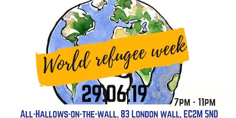 Stand for Humanity x World Refugee Week tickets