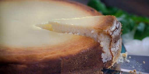 Culinary Happy Hour - Sweet Peach No-Bake Vegan Cashew Cheesecake