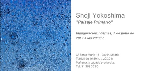 "Shoji Yokoshima inaugura ""Paisaje Primario"" en el espacio Art Room entradas"