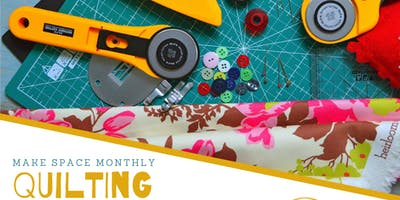 Make Space - Quilting Drop In