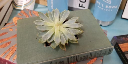 Succulent Book Planter Workshop