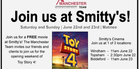 Toy Story 4! a Manchester Team Client Appreciation Event  tickets