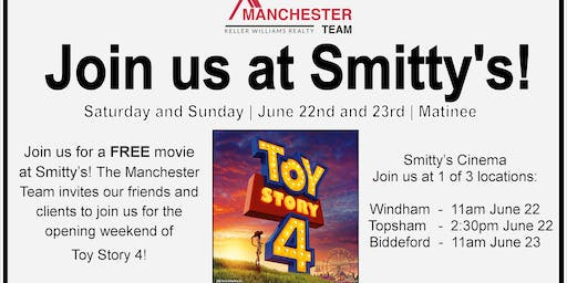 Toy Story 4! a Manchester Team Client Appreciation Event
