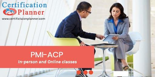 PMI-Agile Certified Practitioner (ACP)® Bootcamp in Regina (2019)