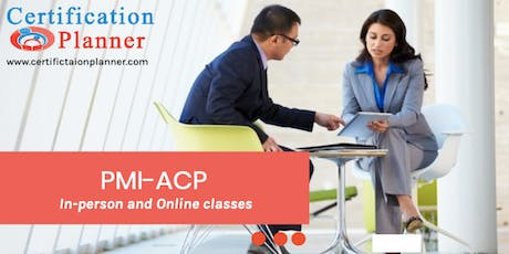 PMI-Agile Certified Practitioner (ACP)® Bootcamp in Saskatoon (2019) tickets