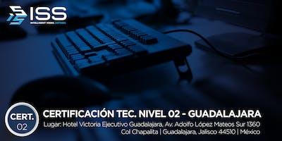 Certificación Técnica ISS Nivel 2 - Del 10 al 12 de Septiembre 2019 GDL MÉXICO