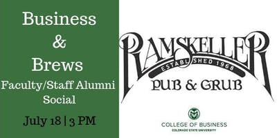 CSU Faculty/Staff Business and Brews at the RAMSkeller