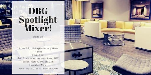 DBG Spotlight Mixer@Embassy Row Hotel