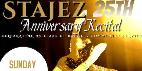 STAJEZ 25TH ANNIVERSARY DANCE RECITAL tickets
