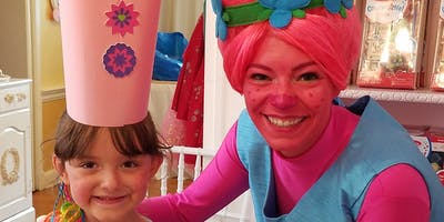 Wed 8/14: ROYAL ACADEMY DAY PASS-Pink Troll Princess!