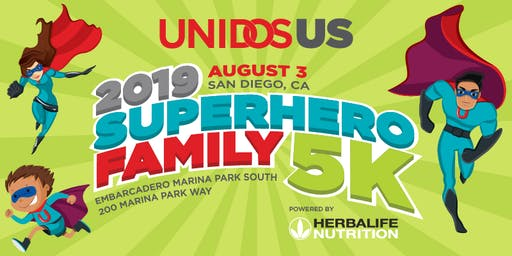 2019 UnidosUS SuperHero Family 5K