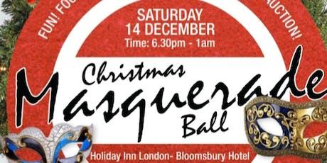 Christmas Masquerade Themed Ball tickets