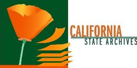 California State Archives Speaker Series with Axel Borg and Jullianne Ballou tickets