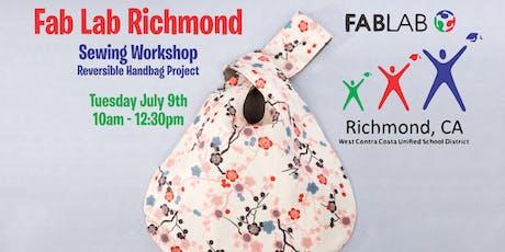Fab Lab Richmond - Sewing Workshop tickets