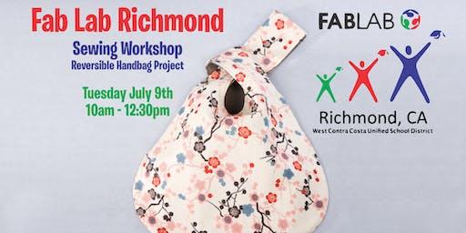 Fab Lab Richmond - Sewing Workshop