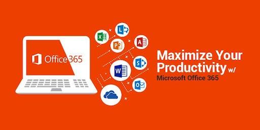 Microsoft Office 365 Showcase (June 19th)