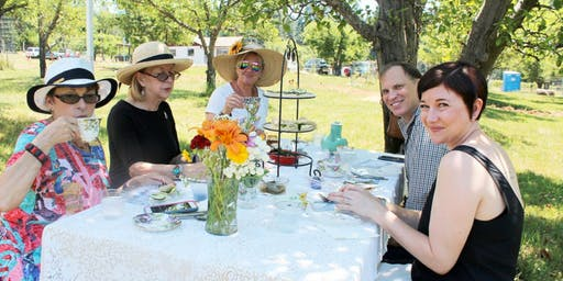High Tea in the Orchard
