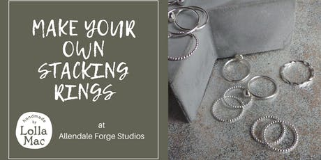 Make Your Own Stacking Rings tickets