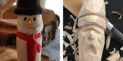 Snowman / Santa Carving Workshop