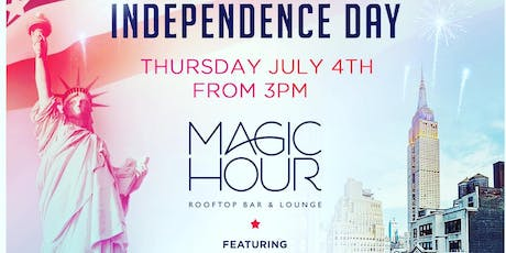 July 4th bash with firework view @ magic hour rooftop  tickets