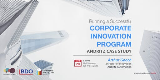 Running a Successful Corporate Innovation Program: ANDRITZ Case Study
