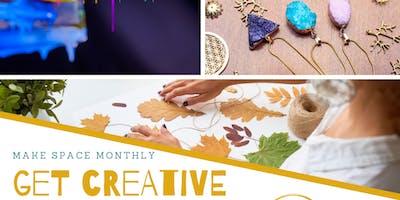 Make Space - Get Creative