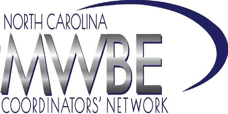 NC MWBE Coordinators' Network Quarterly Meeting - July 2019 tickets