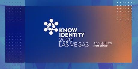KNOW Identity 2020 Las Vegas tickets