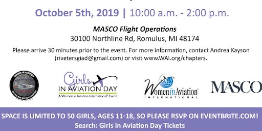 Girls In Aviation Day 2019