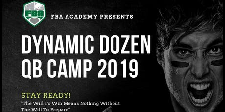 2019 Dynamic Dozen QB Camp  tickets
