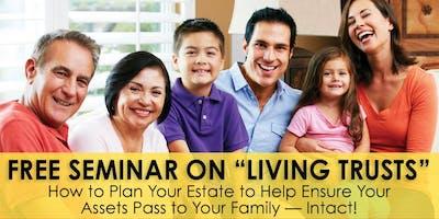 """Free """"Living Trust"""" Seminar - NY"""