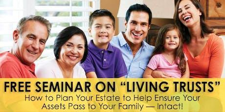 "Free ""Living Trust"" Seminar - NY tickets"