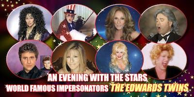 Cher, Elton John,Celine, Streisand & More Vegas Edwards Twins impersonators