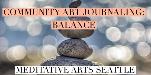 Community Art Journaling: Balance