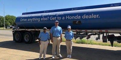 Free Gas for Hondas in Garland, courtesy of North Texas Honda