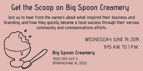 PRCA-B Presents: Get the Scoop on Big Spoon Creamery tickets