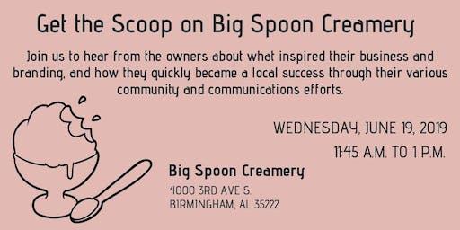 PRCA-B Presents: Get the Scoop on Big Spoon Creamery