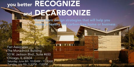 Recognize and Decarbonize!  tickets