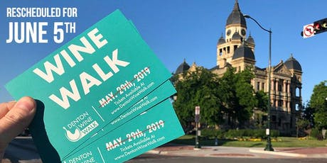 Denton Wine Walk 2018-2019 Season tickets