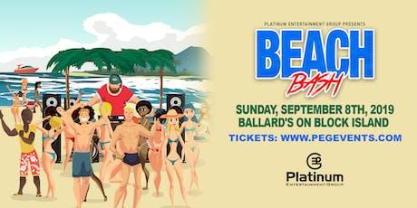 Beach Bash 2019 tickets