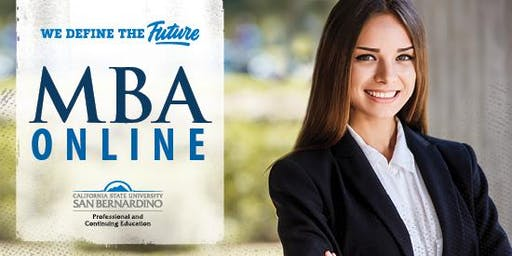 CSUSB's MBA Online Program- Information Session
