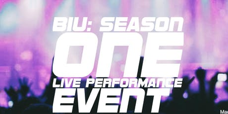 BIU: Live Filming for Season One performing artists tickets