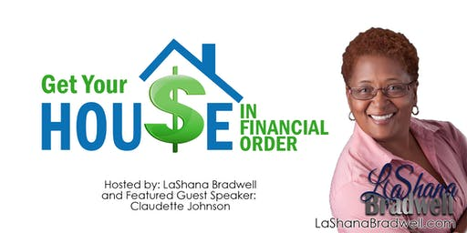 Get Your House in Financial Order!