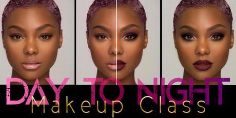 Day and Night Watch & Learn Makeup Class tickets