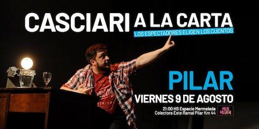 Casciari a la carta — VIE 9 AGO, Pilar