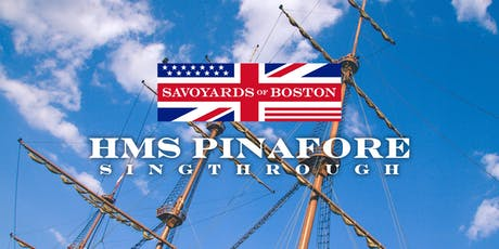 A Fundraiser Sing-Through of HMS Pinafore tickets