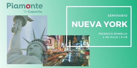 Seminario Nueva York entradas