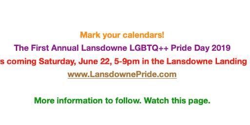 Lansdowne Pride