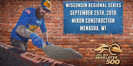 SPEC MIX BRICKLAYER 500® Wisconsin Regional Series tickets