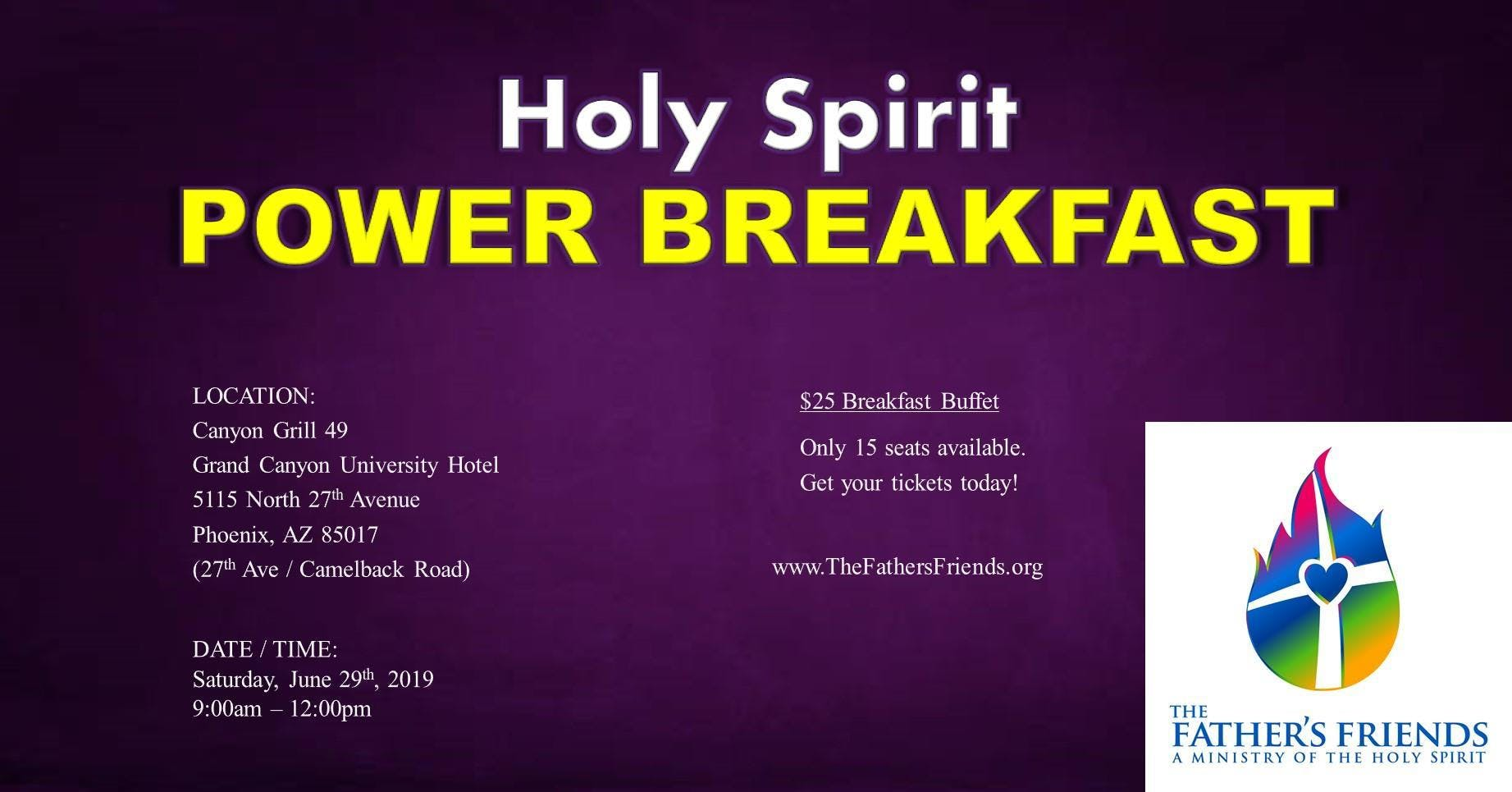 Holy Spirit POWER Breakfast